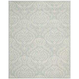 Safavieh Handmade Bella Silver Wool and Viscose Rug (8' x 10')