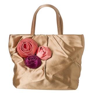 Prada 'Raso' Satin PleatedTote Bag