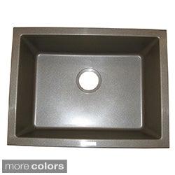 Ukinox Granite Single-bowl Dualmount Sink