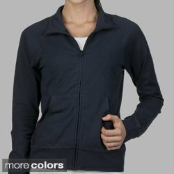 Bella Cotton Cadet Zip-Up Jacket