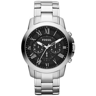 Fossil Men's FS4736 Grant Chronograph Stainless Steel Watch