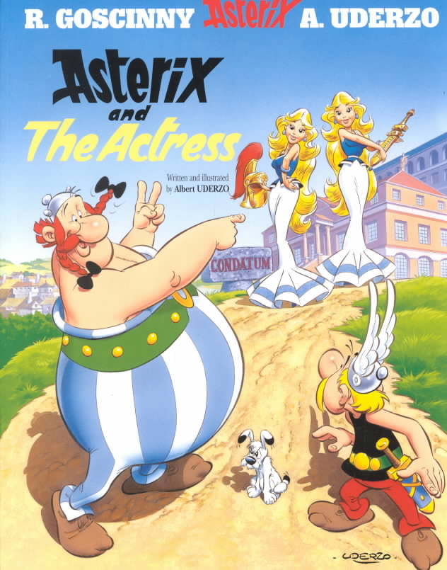 Asterix and the Actress (Paperback)