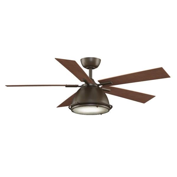 Fanimation 52-inch Oil-Rubbed Bronze 1-light Ceiling Fan