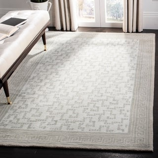 Martha Stewart Byzantium Rainwater Wool Rug (9' x 12')