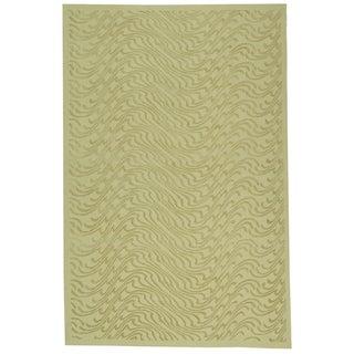 Martha Stewart Ms Surf Dune Silk Blend Rug (7' 9 x 9' 9)