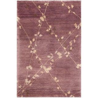 Martha Stewart Trellis Assorted Wool Rug (3' 9 x 5' 9)