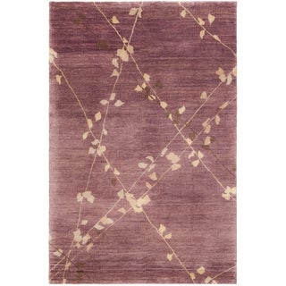 Martha Stewart Trellis Assorted Wool Rug (7' 9 x 9' 9)