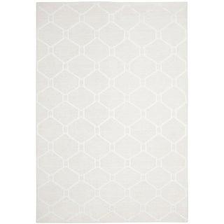 Martha Stewart Piazza White Linen Rug (9' x 12')