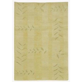 Martha Stewart Grasses Chamimile Wool Rug (9' x 12')