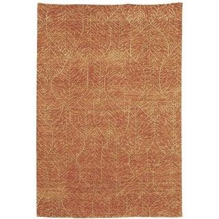 Martha Stewart Foliage Harvest Wool Rug (9' x 12')