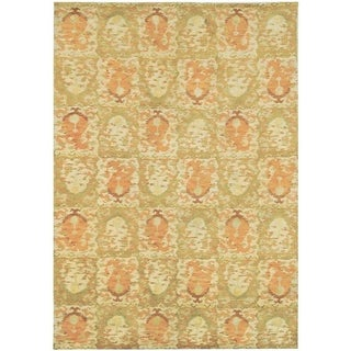 Martha Stewart Reflection Earth Silk/ Wool Rug (9' x 12')