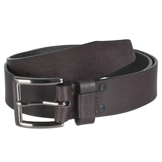 Marc New York Men's Brown Leather Belt