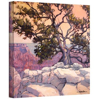 Rick Kersten 'North Rim Tree' Gallery Wrapped Canvas