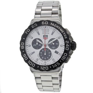 Tag Heuer Men's CAU1111.BA0858 F1 Chronograph Stainless Steel Watch