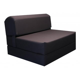 Brown Tri-fold Foam Chair / Bed / Mat