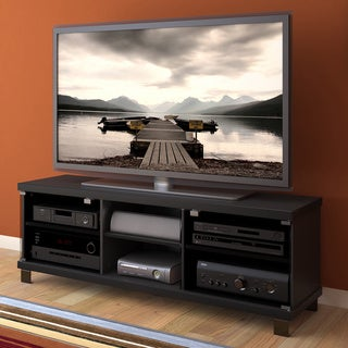 Sonax Holland Midnight Black 59-inch TV/ Component Bench