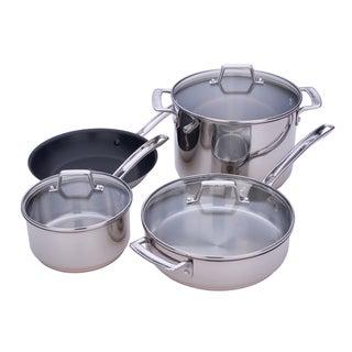 Miu Stainless Steel 7-piece Cookware Set