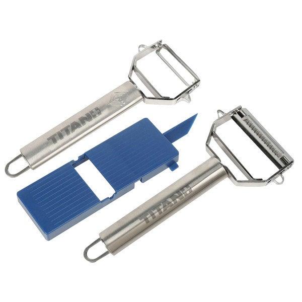 Trademark Tools Titan Peeler/ JulienneTool/ Board