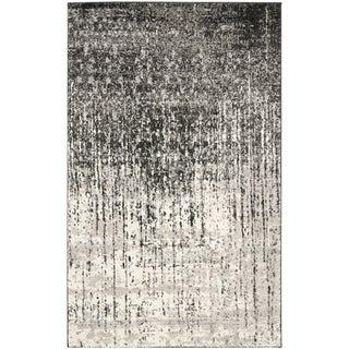 Safavieh Retro Black/ Grey Rug (8'9 x 12')
