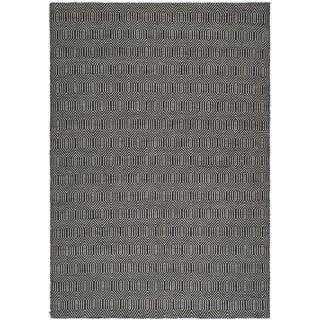 Safavieh Hand-woven South Hampton Black Rug (8'9 x 12')