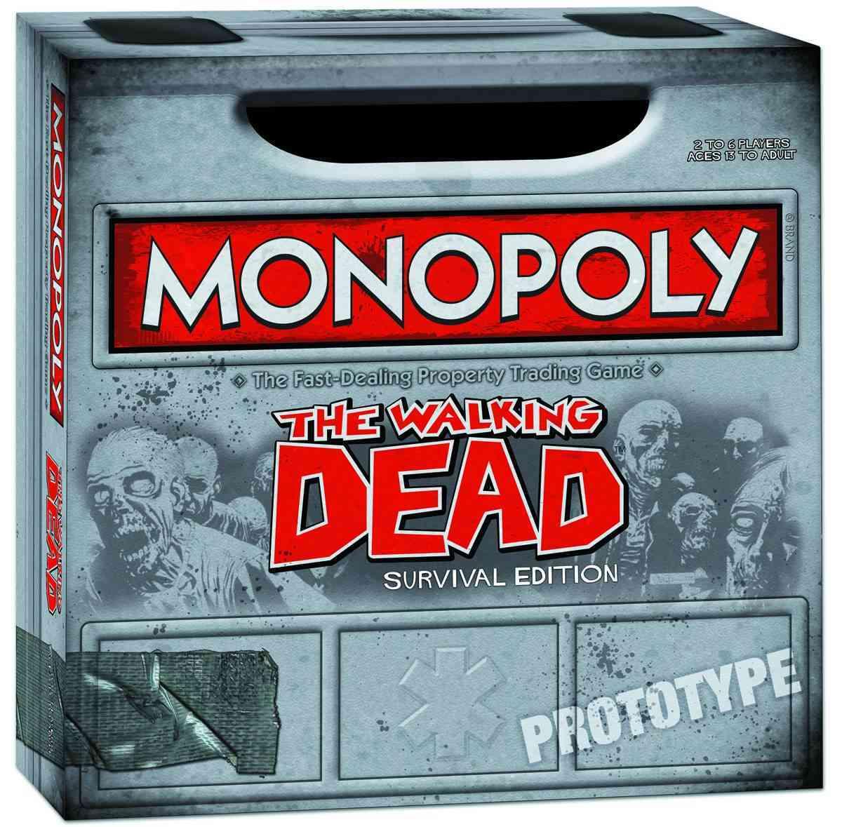 Monopoly Walking Dead Survival Edition