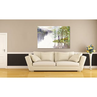 Mountain Calm Oversized Gallery Wrapped Canvas
