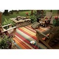 Indoor/Outdoor Metro Stripe Rug (5' x 8')