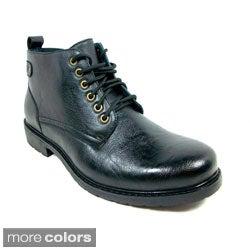 Ferro Aldo Men's Ankle Height Oxford Dress Shoes