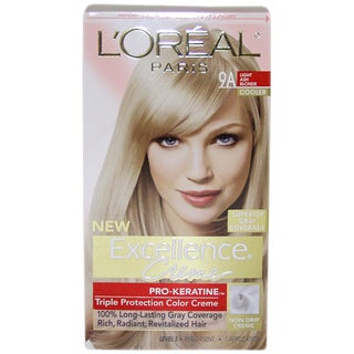 L'Oreal Superior Preference Fade-Defying #9A Light Ash Blonde Cooler Hair Color