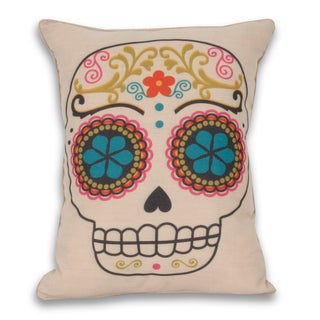 Sugar Skulls Reversible 14 x18-inch Throw Pillow