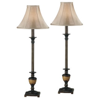 Blass Bronze Buffet Lamps (Set of 2)