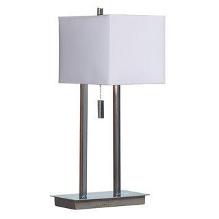 'Sturbridge' Chrome Finish Accent Lamp