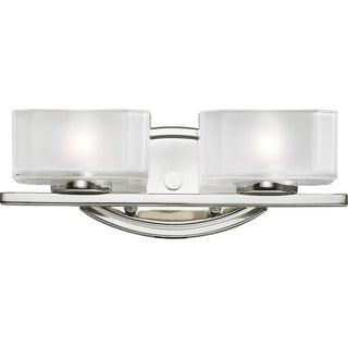 Cabro Chrome 2-light Vanity Light