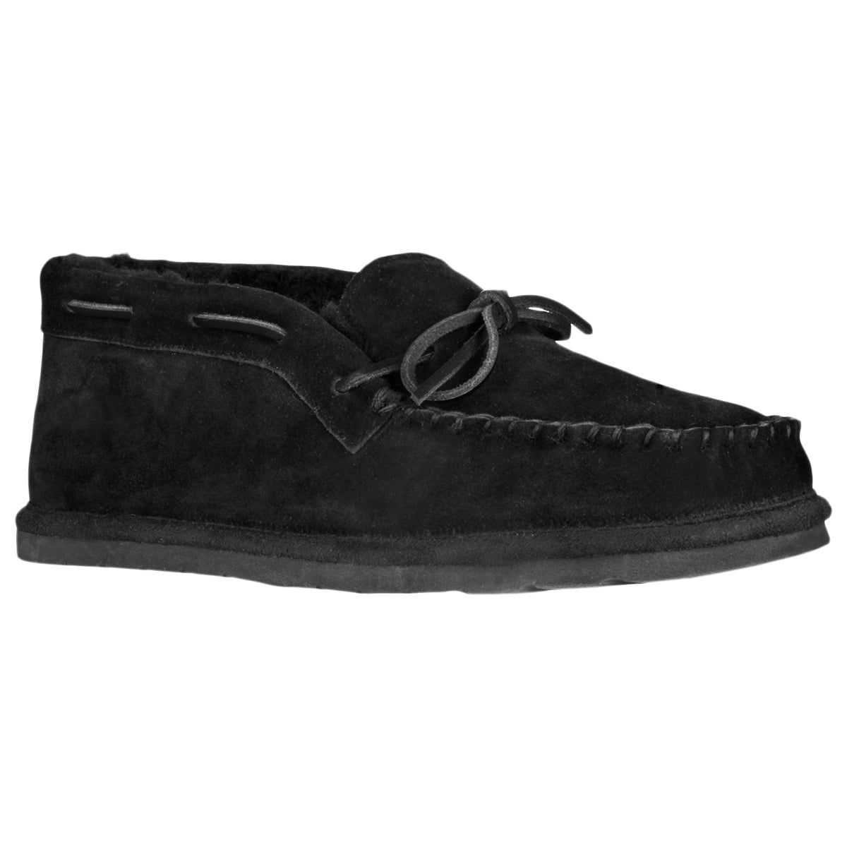 Lugz Men's 'Dudley' Suede Black Slippers