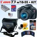 Canon EOS Rebel T3 12.2MP DSLR Camera/ 18-55mm IS II Lens/ 8GB Kit