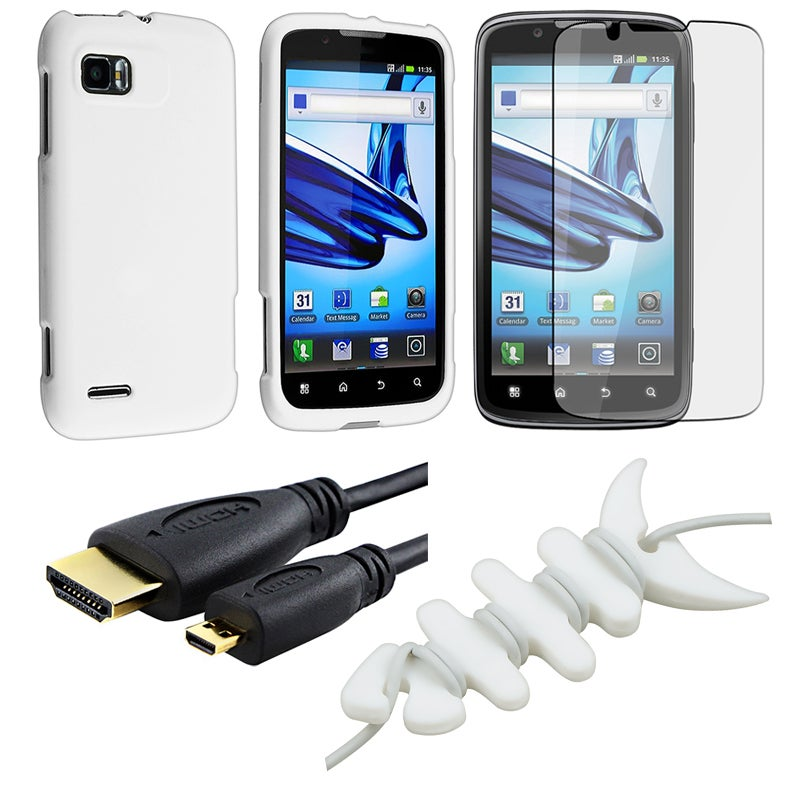 Case/ LCD Protector/ Wrap/ HDMI Cable for Motorola Atrix 2 MB865