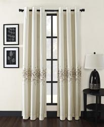 Mosaic Grommet 84-inch Curtain Panel