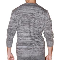 191 Unlimited Men's Grey Heathered Cardigan
