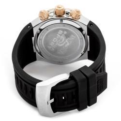 Invicta Men's 'Venom/Reserve' Black Silicone Watch