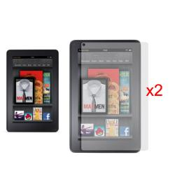 Deluxe Amazon Kindle Fire Anti-glare Screen Protector (Pack of 2)