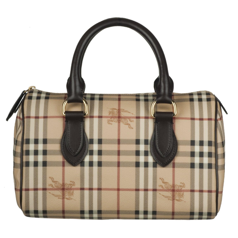 Burberry 3460094 Medium Haymarket Check Bowler Bag