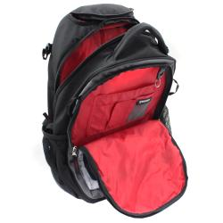 Wenger Swiss Gear Black/Grey 20-inch Rolling Carry-on Backpack