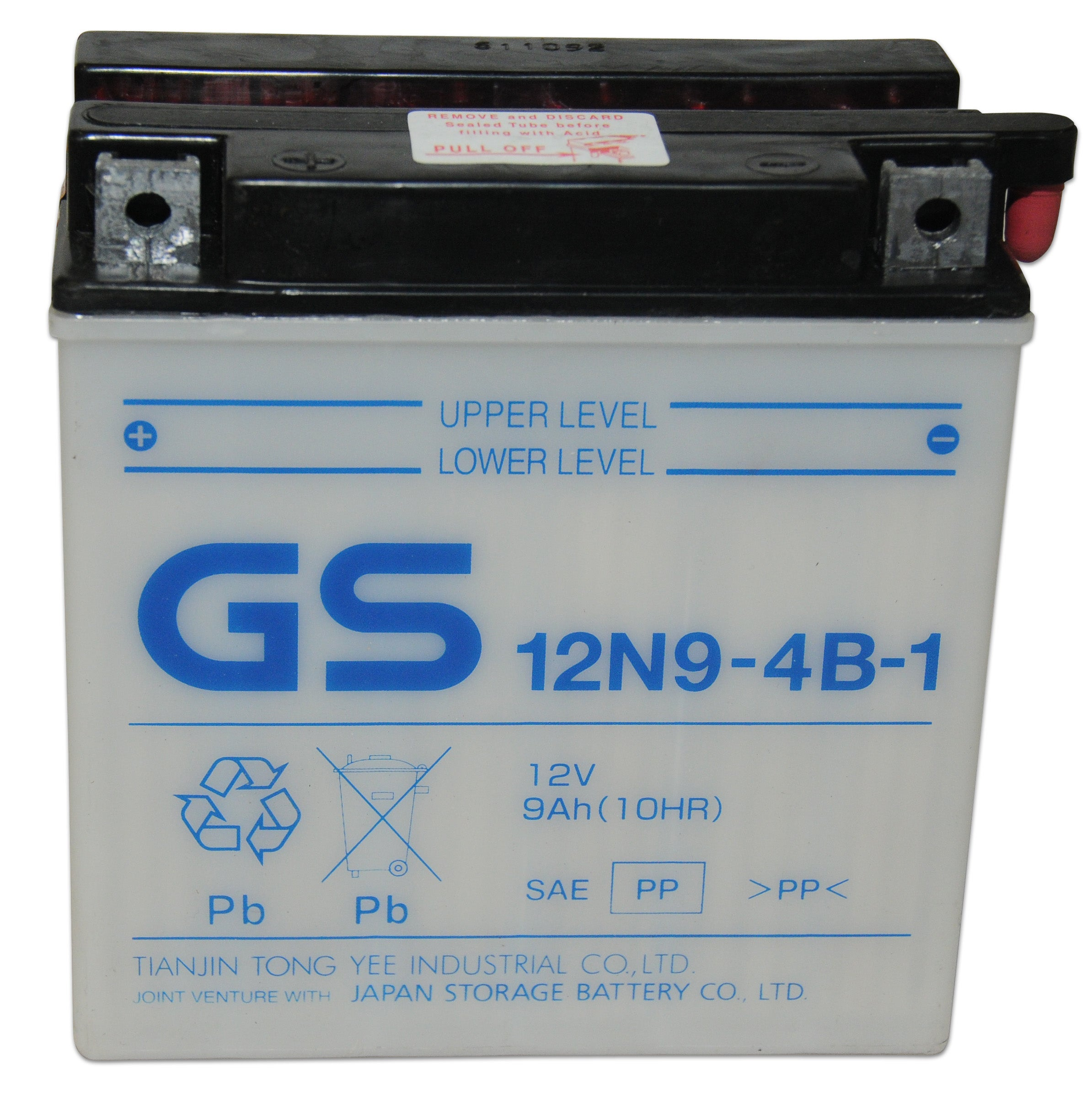 GS 12N9-4B-1 Conventional Battery