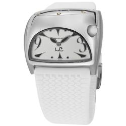Lucien Piccard Women's 'Junior Stratosphere' White Rubber Watch