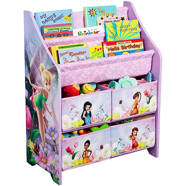 Disney Tinker Bell Fairies Book and Toy Organizer