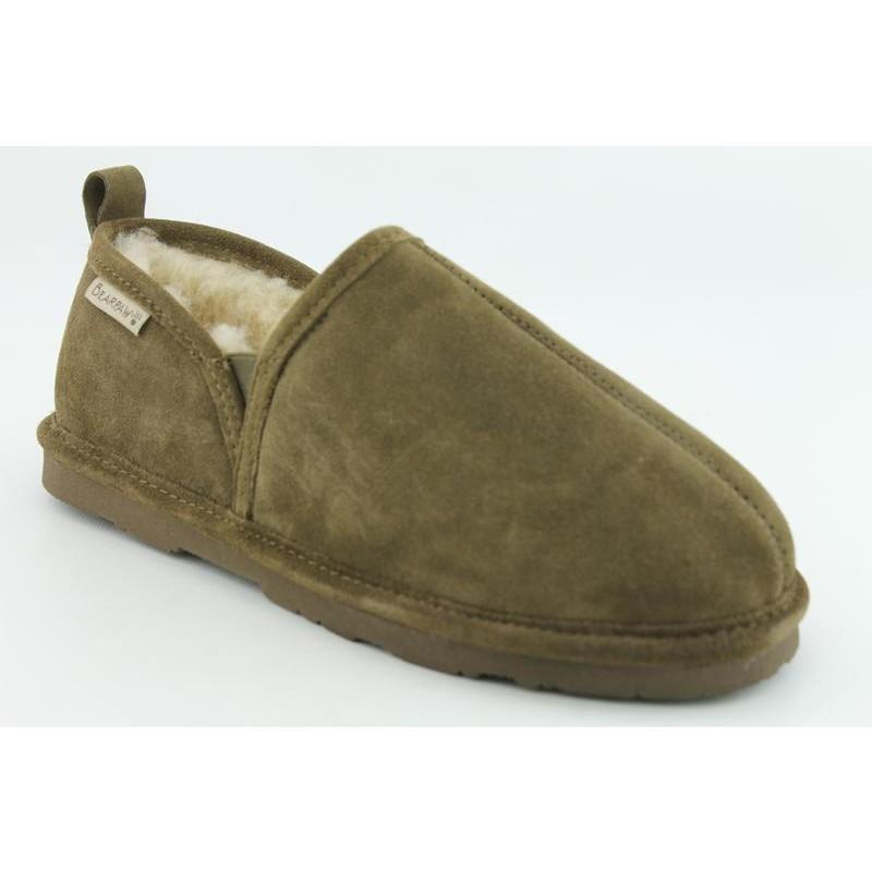 Bearpaw Men's 'Romeo II' Brown Suede Slippers