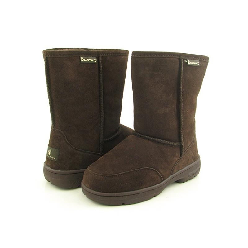 bearpaw s meadow brown boots size 9
