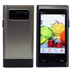SVP SN-9 Dual SIM Grey Unlocked GSM Cell Phone with 32GB Micro SD