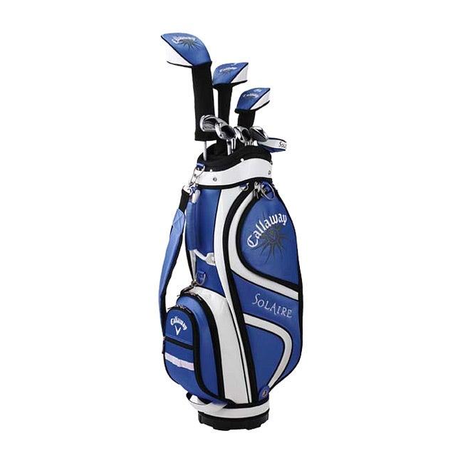 Callaway Women's Solaire 9-piece Blue Golf Set