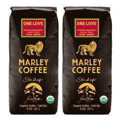 Marley Coffee One Love Yirgacheffe Whole Bean Coffee (1 Pound)